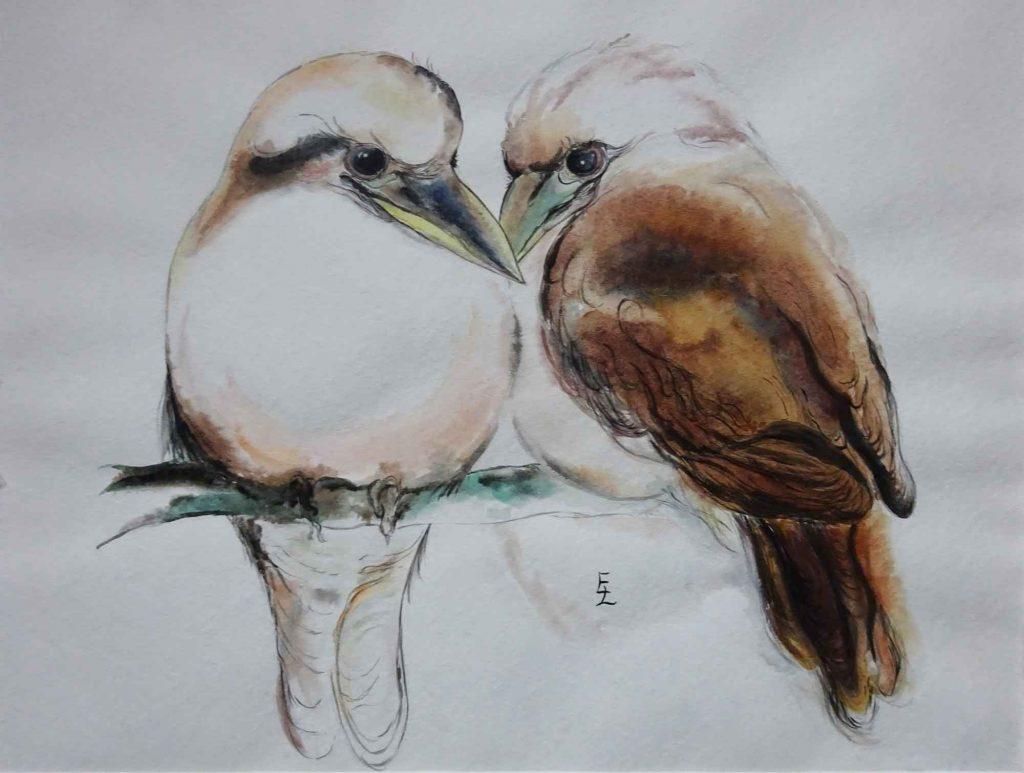 Tropische Vögel